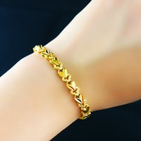Wholesale 24K Yellow Gold Filled Bracelet