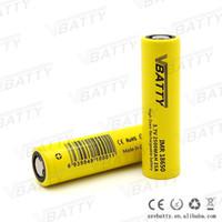 Wholesale Top Quality a battery Vbatty v imr mah amp high drain battery vs he2 he4 lghg2 inr18650 r and VTC5