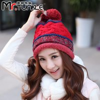 Wholesale DG1569 Ms Winter tide cap Korean fashion wool cap outdoor hat new outdoor ski cap