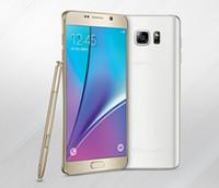 Nota 5 teléfono núcleo octa desbloqueado MTK6592 Octa Core 5,7 pulgadas Android 5.1 teléfono móvil barato 64bit Note5 teléfonos desbloqueado los teléfonos móviles