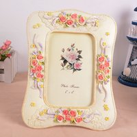 beautiful frames photos - units pack Beautiful Classic Resin Photo Frame New Fashion Wedding Picture Frame Retro Photo Frame Home Decoration RPF001