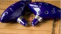 Wholesale hot Legend of Zelda Ocarina of Time Clay Ceramic Alto C Occarina holes with musical composition