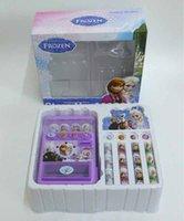 Wholesale Retail Box Kids Anna Elsa Pretend Play Toys Frozen Theme Simulation Toy Vending Machine