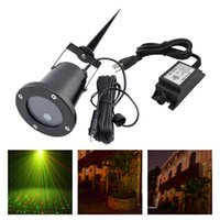 Wholesale New IP65 Red Green Waterproof Outdoor Projector Laser Lights Landscape Garden Yard Home Party Xmas Buried Lighting OD RG