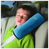 child car safety belt - Car Styling Car Children Safety Seat Belt Shoulder Harness Pad Cover Cushion Sleep Pillow