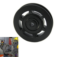 Wholesale FS Hot mm Black Bearing Pulley Wheel Cable Gym Equipment Part Wearproof order lt no track