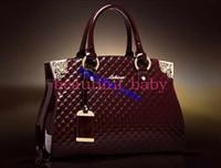 Wholesale Luxury Women messenger Bag Genuine patent leather handbag shoulder bag crossbody Bags Fashion tote Brand Clutches
