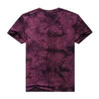 Wholesale 2015 new men s short sleeved t shirt tie dyed t shirt D handmade men s cotton t shirt AliExpress explosion models in Europe and America