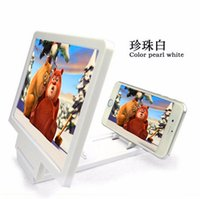 Wholesale Foldable Portable Mobile Phone Screen Magnifier HD Amplifier Expander Stand Holder For iPhone HTC Samsung note5 Smart Device