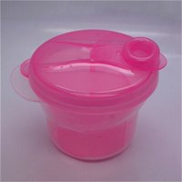 Wholesale 1Pcs Portable Baby Milk Feeding Powder Dispenser Container Compartment Food Storage Box Hot Sale