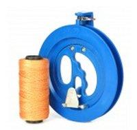 Wholesale 16cm Kite Flying Line Bearing Reel handle w m Line Blue Brown