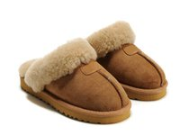 Wholesale New Arrival High Quality Women popular Australia Genuine Leather slippers Fashion Women s slippers US5 US10