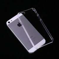 Wholesale New Ultra Thin Clear Transparent Crystal Hard Back Case Cover For iPhone S quot plus