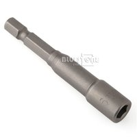 Wholesale 2pcs quot to mm Magnetic Nut Driver Socket Adapter Hex Shank Drill Bit Tool L65