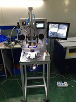automatic machine learning - cable machine Full Automatic for Samsung LCD Flex Bonding Machine Bond Flex with Learning Video ACF glueHeat insulating tapesoldering iron