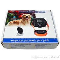Wholesale In Ground Electronic Wireless Remote Pet Dog Fence Containment System Rechargeable and Waterproof Pet Dog Training Collar