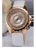 round magnet - Women Watch Hot Sell Simple Waterproof Fashion Student Leather Watchband Quartz Movement Anti Shock Anti Magnet Life Waterproof Wristwatch