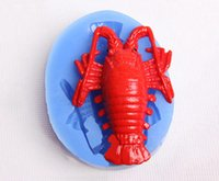 baking lobsters - DIY Tropical Fish Lobsters Silicone Mold Fondant Cake Decorating Tools Cookie Mold Cake Baking Tools FM485