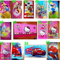 beach bathroom colors - 200 TOPB4570 colors kids cm printed doraemon mcqueen beach towels snow white bathing towel cotton bathroom Tinker bell Buzz towels
