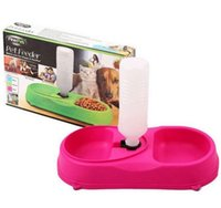 Cheap Pet Feeder Automatic Water Dispenser Bottle Bukets Dog Cat Pet Water Storage Feeder Dish Bowl Kit