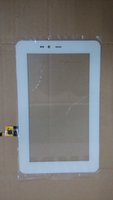 Wholesale 7 quot White Tablet Pc Capacitive Touch Screen Digitizer Replacement SR Glass Touch Panel with IC