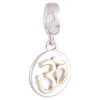 Crystal jade - Jade Beads Silver Beads Sterling Silver D Floating Dangle fit European Bracelets No YZ651