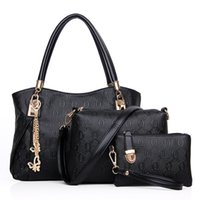 Wholesale New women handbags leather handbag women messenger bags ladies bag bags Handbag Messenger Bag Purse Sets