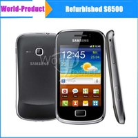 Wholesale Refurbished Samsung S6500 Original Samsung telefone celular GSM G MP wifi GPS M GB X320 Bluetooth TFT
