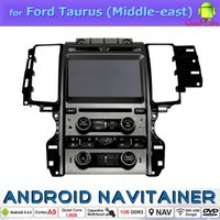 gps tv wince al por mayor-Estéreo Wince la radio de coche 2Din del coche DVD GPS de la pantalla táctil para Ford Taurus (Medio Oriente) con Bluetooth 3G TV Quad Core HD Video 1024 * 600