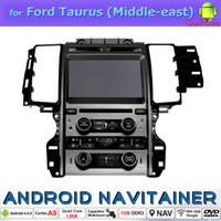 achat en gros de gps tv grimacer-Stereo Wince voiture écran Radio 2Din Car Dvd GPS tactile pour Ford Taurus (Moyen-Orient) avec Bluetooth 3G TV Quad Core HD vidéo 1024 * 600
