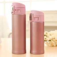 Wholesale 500ml Portable Vacuum Flask Stainless Steel Vacuum Cup Travel Mug Thermos Bottle