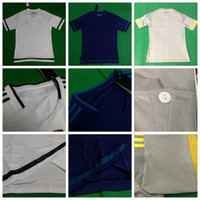 thailand football jerseys - Soccer Jerseys Real Madrids Football Jersey Uniforms Kits Thailand AAA Top Cheap Clothing Discount White Blue Gray Home rd