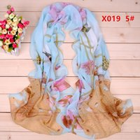 Plain animal scarf pattern free - New Zebra pattern chiffon long silk scarves cm DHL X019c Sales Paisley scarf Fashion design
