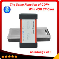 benz card - tcs cdp new designed Multidiag pro version with GB TF card bluetooth plactis box
