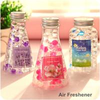Wholesale Arome beads air freshener for home bathroom office aromatizador de casa ambientador fragrance Novelty households