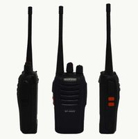 Wholesale Walkie Talkie Baofeng BF S W CH Portable Two Way Radio UHF400 MHz CB Radios Comunicador Transmitter Transceiver
