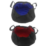 Wholesale 2015 New Portable Foldable Outdoor Camping Water Wash Nylon Basin Sink Bucket Pot