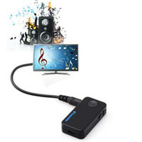 Wholesale 2014 Universal Professional mm Stereo Bluetooth Audio Radio Music Car TV FM Transmitter Phone MP3 For Sale
