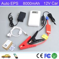 Wholesale Hot Sale Auto EPS A3 mAh Mini Multi Function Jump Starter Emergency Power Bank Charger For Car Start Phone Charger Gift For Friends