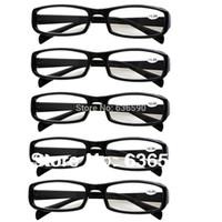 Wholesale 5 Pairs Unbreakable Black or Tortoiseshell Mens Womens Durable Reading Glasses Eyewear Longsighted Lenses Strength to