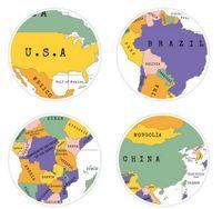 Wholesale New Arrive Scratch OFF MAP Travel Scratch Map cm World Map