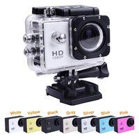 Wholesale SJ4000 Go Pro GoPro Hero Waterproof Sport DV HD Camera Camcorder Gopro Style Novatek P fps MP H Inch LCD CAR DVR