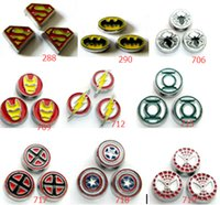 Wholesale 50pcs Superhero series Floating charms DIY Accessory Fit for Floating charms Locket