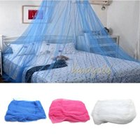 Wholesale Elegant Princess Room Round Top Netting Curtain Canopy Bed Dome Mesh Prevent Insect Mosquito Net