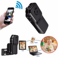 abs surveillance - Wifi Wireless Network GB Mobile Remote With Bracket USB Cable Surveillance Camera TF Card MD81 ABS