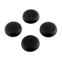Wholesale Hot x Rubber Silicone Thumbstick Joystick Grips Cover Case For Sony PlayStation PS4 Controllers Black Video Accessories