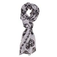 bali products - Indeed Wild Single Product Fashion Women Beauty Bali Yarn Skull Skeleton Style Scarf Shawl Wrap L3FE