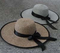 Wholesale New Summer And Spring Women s Outdoor Beach Hat Ladies Straw Sun Hats For Women Casual Sunbonnet Sunhats