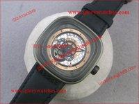 1 - SevenFriday P2 V6F Best Edition RG Dial on Black Leather Strap Miyota S7