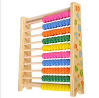 abacus kid - Early Education Wooden Toy multifunctional educational Maths Teaching beads Calculator numbers ABACUS learning color digital number kids toy